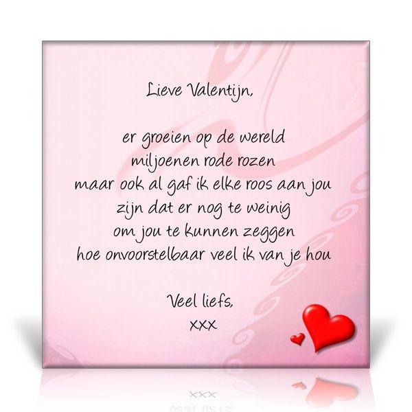 Betere Valentijns gedicht | Valentijnen, Valentijnsdag, Teksten LN-29