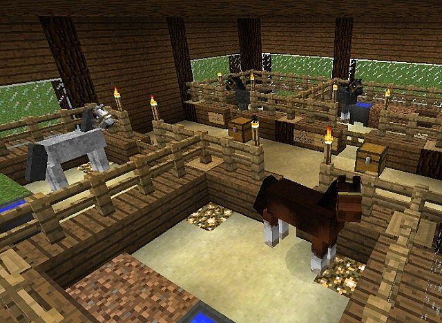 minecraft horses farm