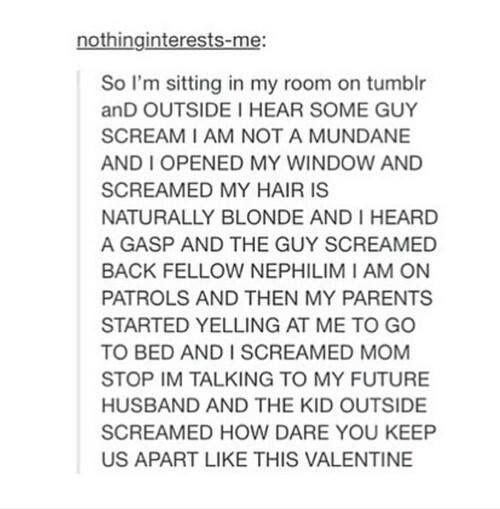 Why can't cute stuff like this happen to me