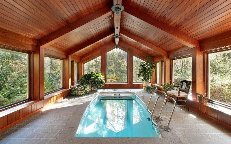 How Much Does An Indoor Pool Cost Pool Pricer Small Indoor Pool Indoor Swimming Pool Design Luxury Swimming Pools