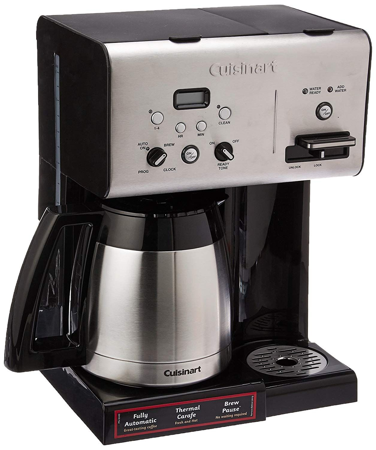 Cuisinart CHW14 Coffee Plus 10Cup Thermal Programmable