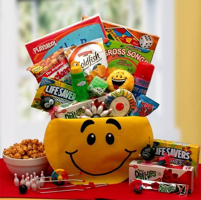 The perfect gift basket a smile today gift box childrens the perfect gift basket a smile today gift box negle Choice Image