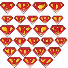 superman logo with different letters dia del padre pinterest rh pinterest com superman logo with different letters download superman emblem with different letters