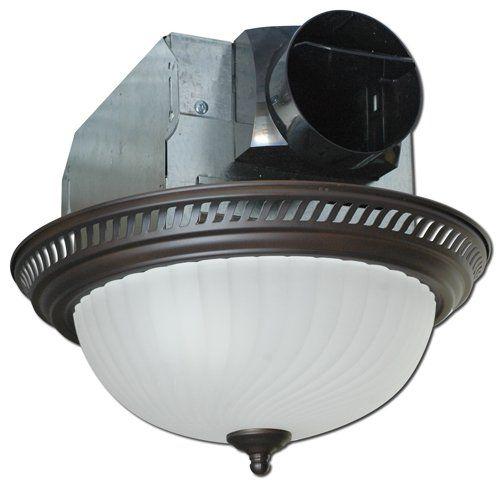 Air King Aklc701 Decorative Quiet Round Bath Fan With Lig Bath Fan Fan Light Bathroom Fan