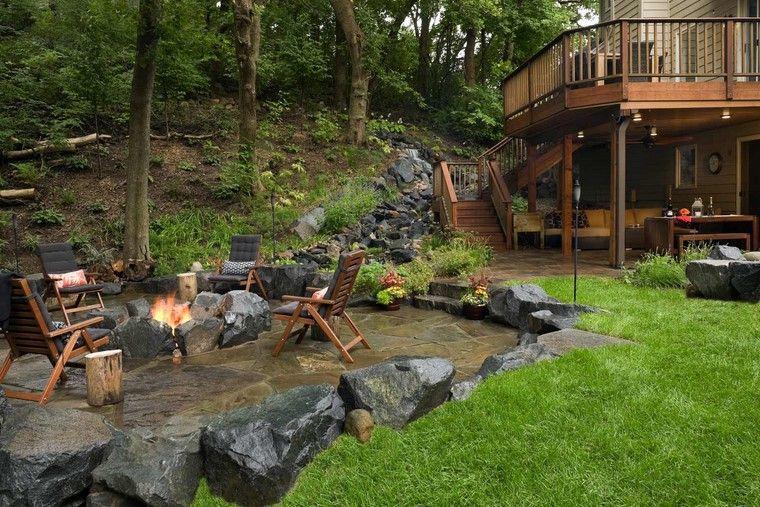 Fotos de jardines r sticos con dise os magn ficos - Jardines rusticos campestres ...