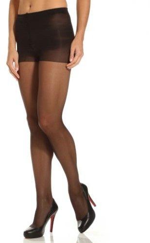 d09e3e72883 Calvin Klein 620F Matte Ultra Sheer Pantyhose with Control Top (Black A)