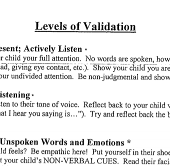 Dbt Levels Of Validation Dialectical Behavior Therapy How To Validate Someones Feelings Dbt Therapy
