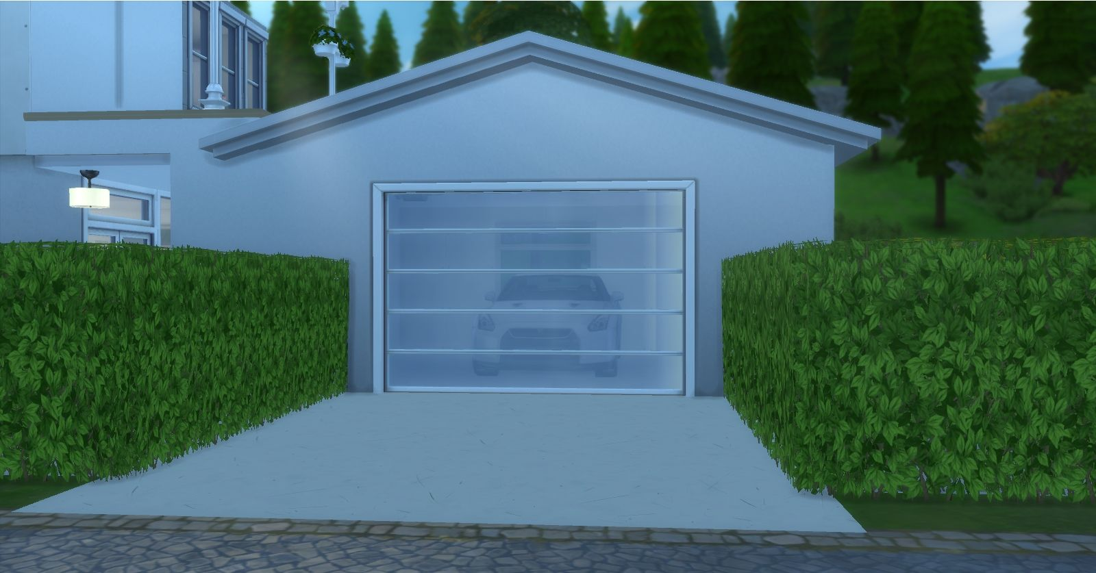 Mod The Sims Garages Sims Sims 4 Garage Doors
