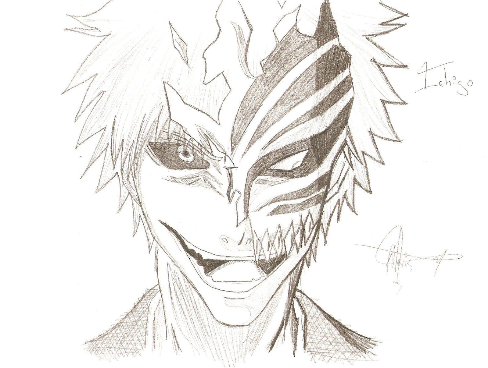 Resultado de imagen para bleach para dibujar a lapiz  Manga