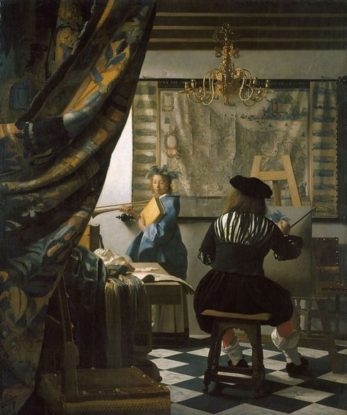 Jan Vermeer - The Art of Painting [1666-68]