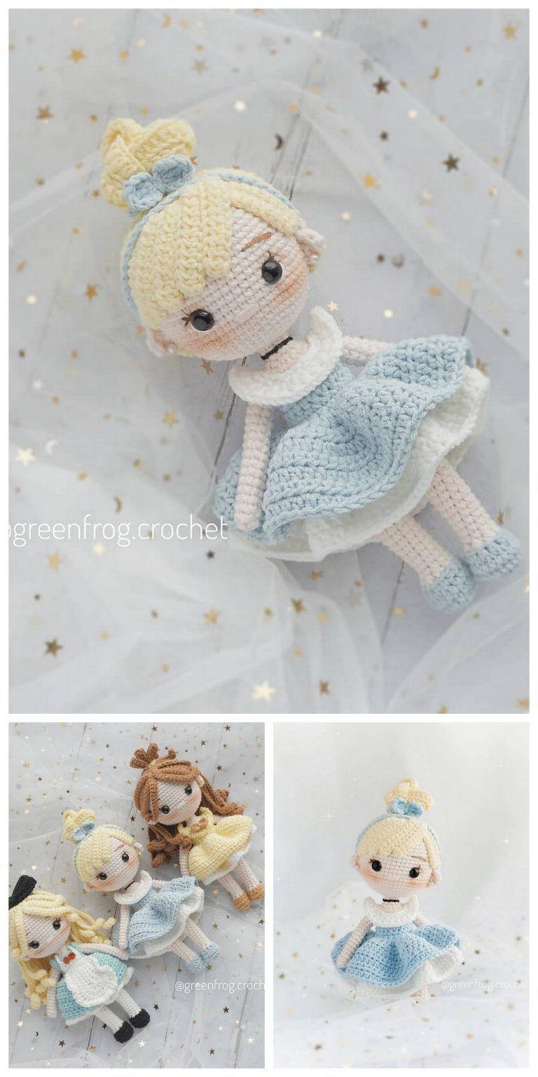 Adorable Crochet Amigurumi Doll - Free Pattern - DIY 4 EVER   1536x768