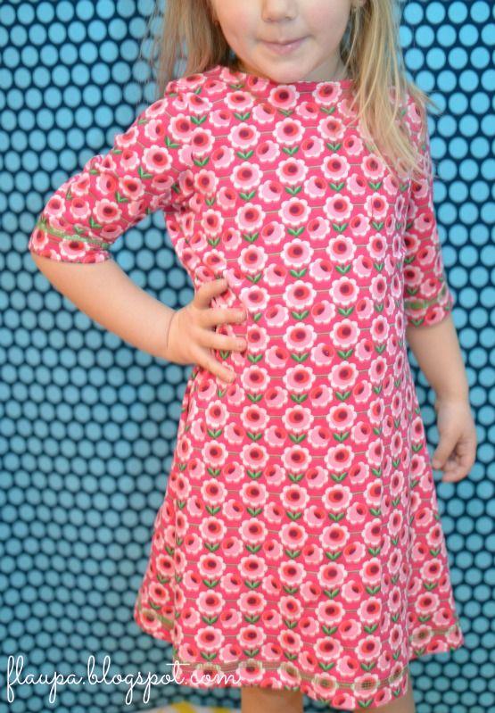 Lillesol Jerseykleid mit Uboot-Ausschnitt!
