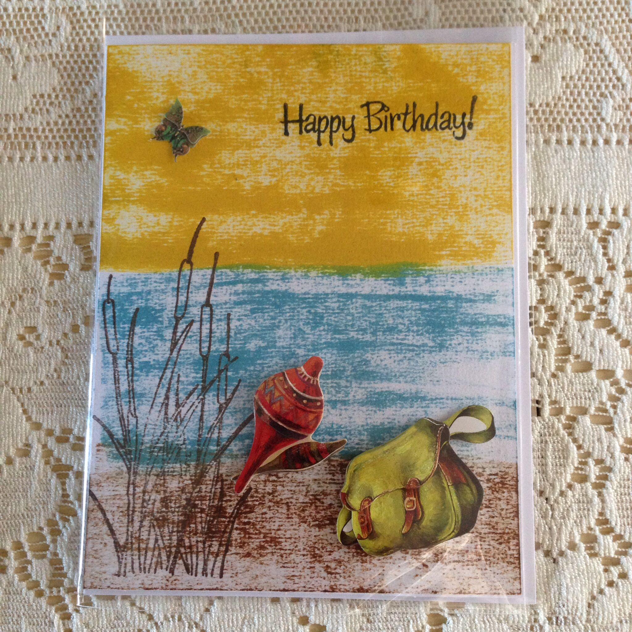 Handmade cardmale birthdayfishing rickis handmade cards handmade cardmale birthdayfishing kristyandbryce Choice Image