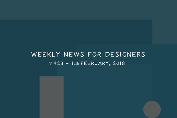 weekly news for designers  u2116 423