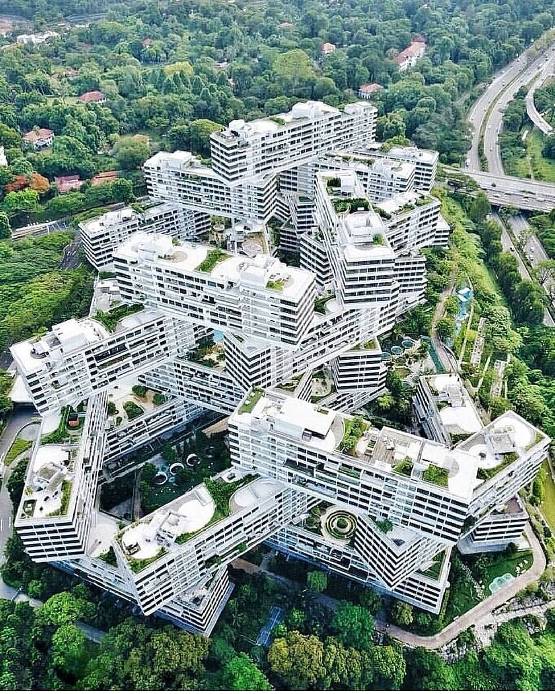 Apartments In Singapore: ArchitecturenowThe Interlace Is A 1000-unit Apartment