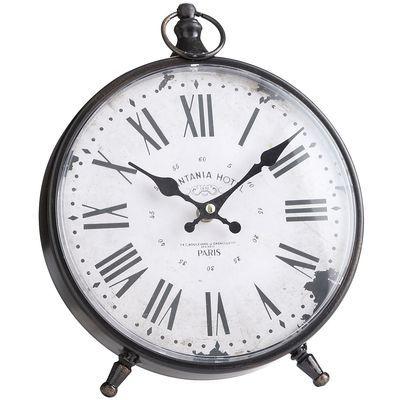 Printania Hotel Desk Clock Black   Desk clock, Clocks and Desks