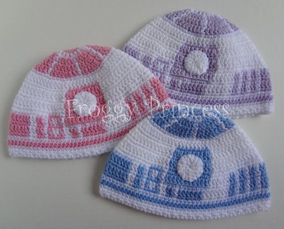 Star Wars Inspired R2D2 Hat TODDLER 13 years by FroggyPrincess ...