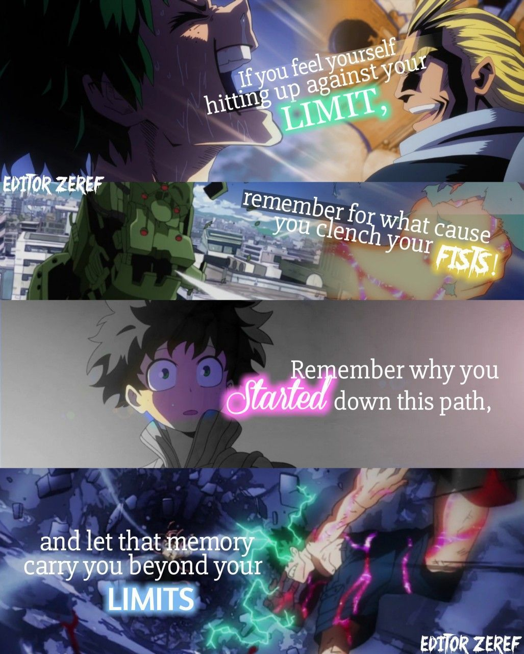 Powerful Quotes From Anime