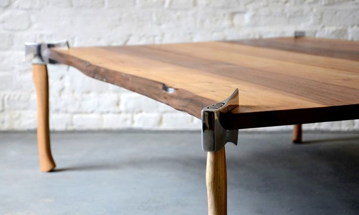 40 Creative Diy Coffee Table Ideas You Can Build Yourself In 2020 Wood Coffee Table Diy Homemade Coffee Tables Diy Coffee Table