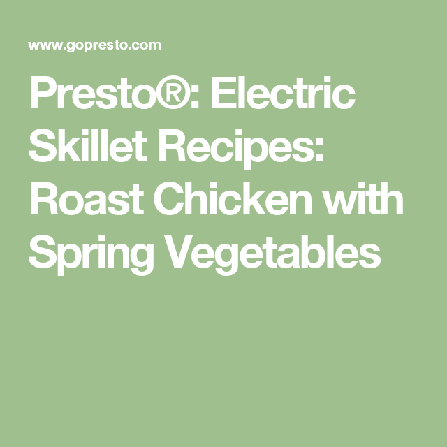 Roast Potatoes Electric Frying Pan