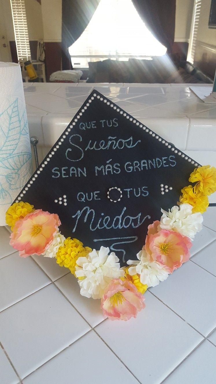 Graduation Cap Spanish High School Graduation Cap Decoration Graduation Cap Decoration College Graduation Cap Decoration