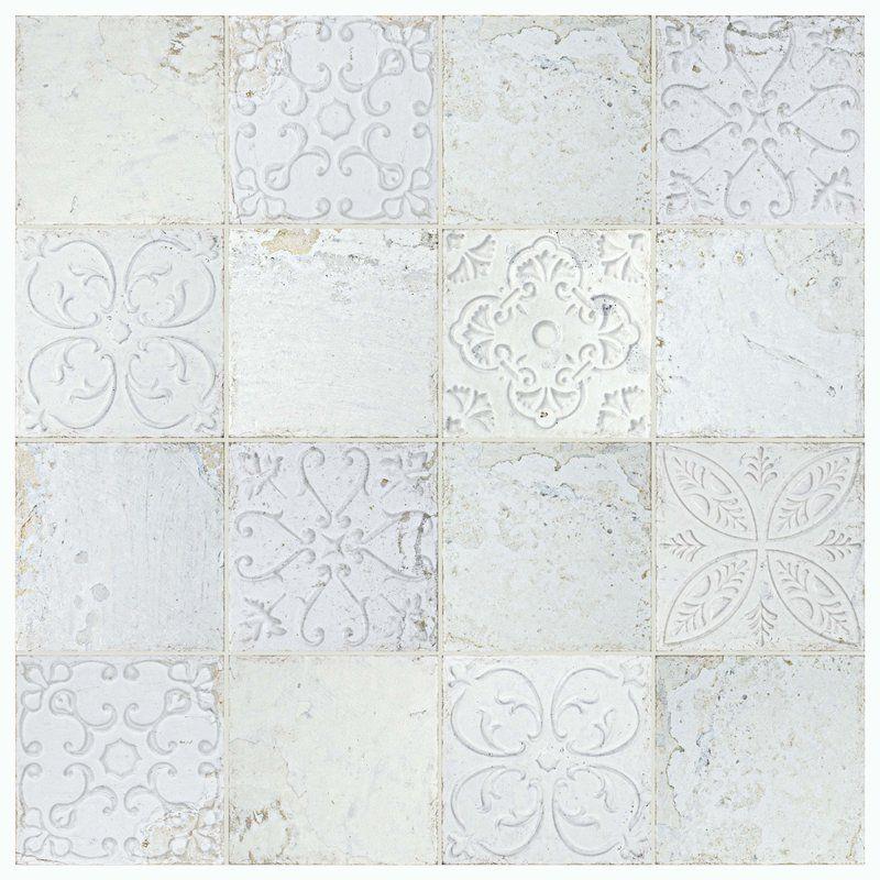 Aevit 8 X 8 Ceramic Field Tile Wall Tiles Ceramic Wall Tiles