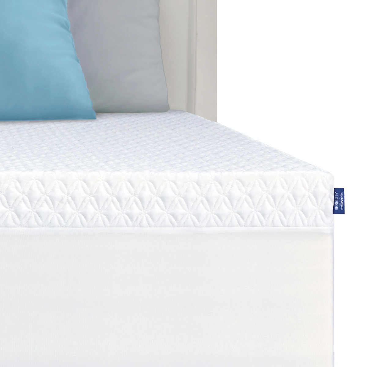 Serenity By Tempur Pedic Memory Foam Mattress Topper Memory Foam