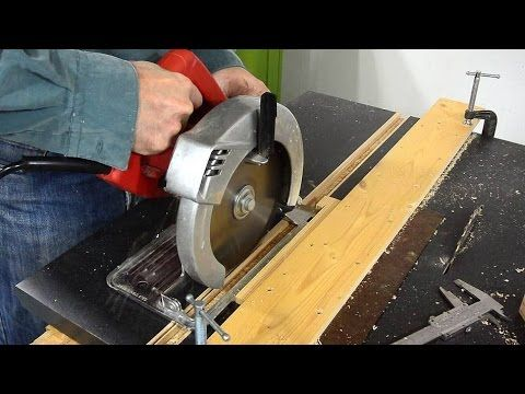 Miter Slots For The Homemade Table Saw Table Saw Homemade Tables Mitered