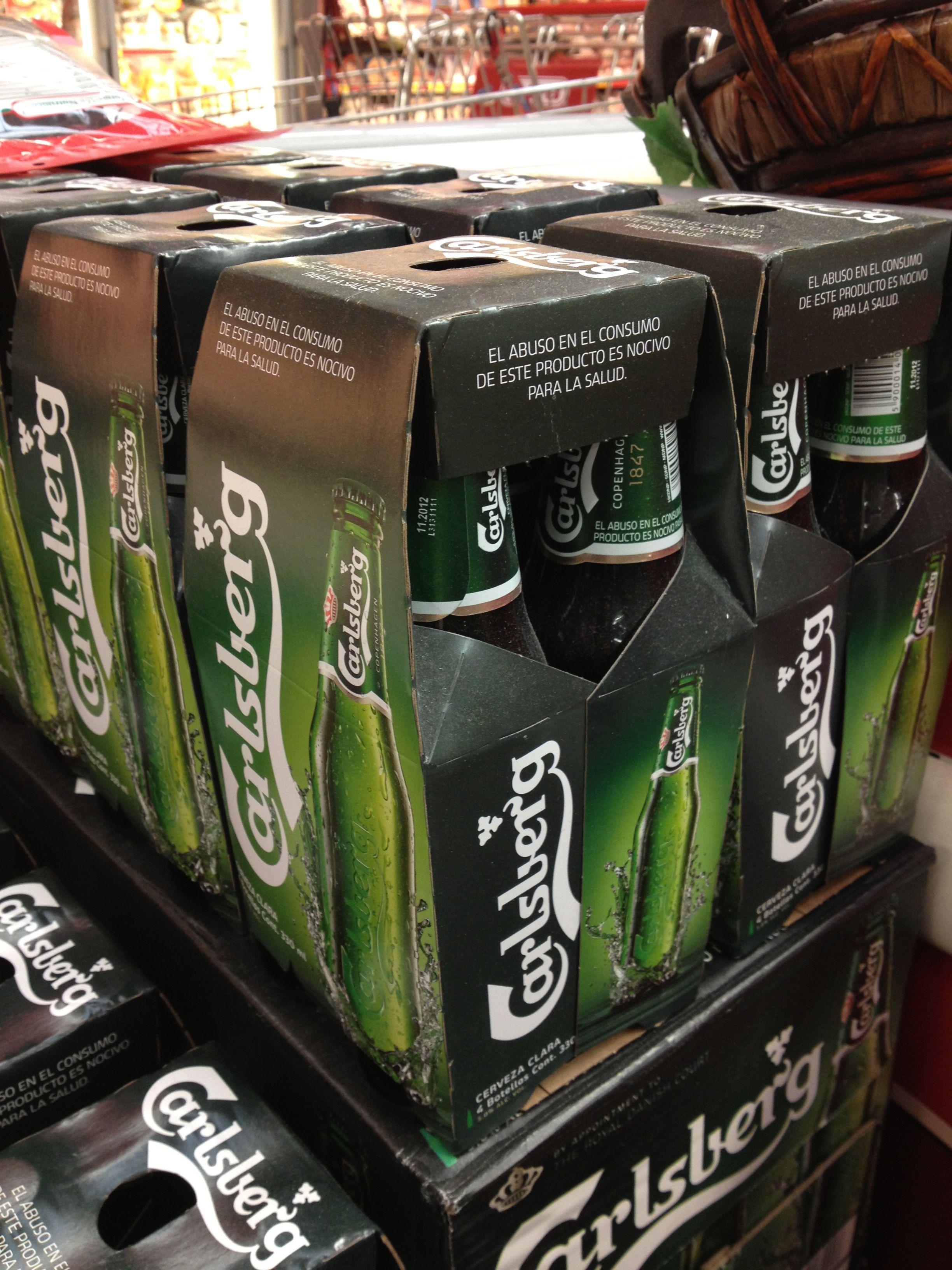 Carlsberg beer 4pack