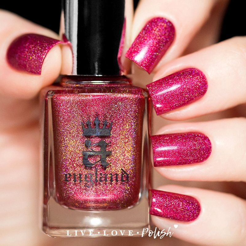 A-England Shall Be My Queen Nail Polish