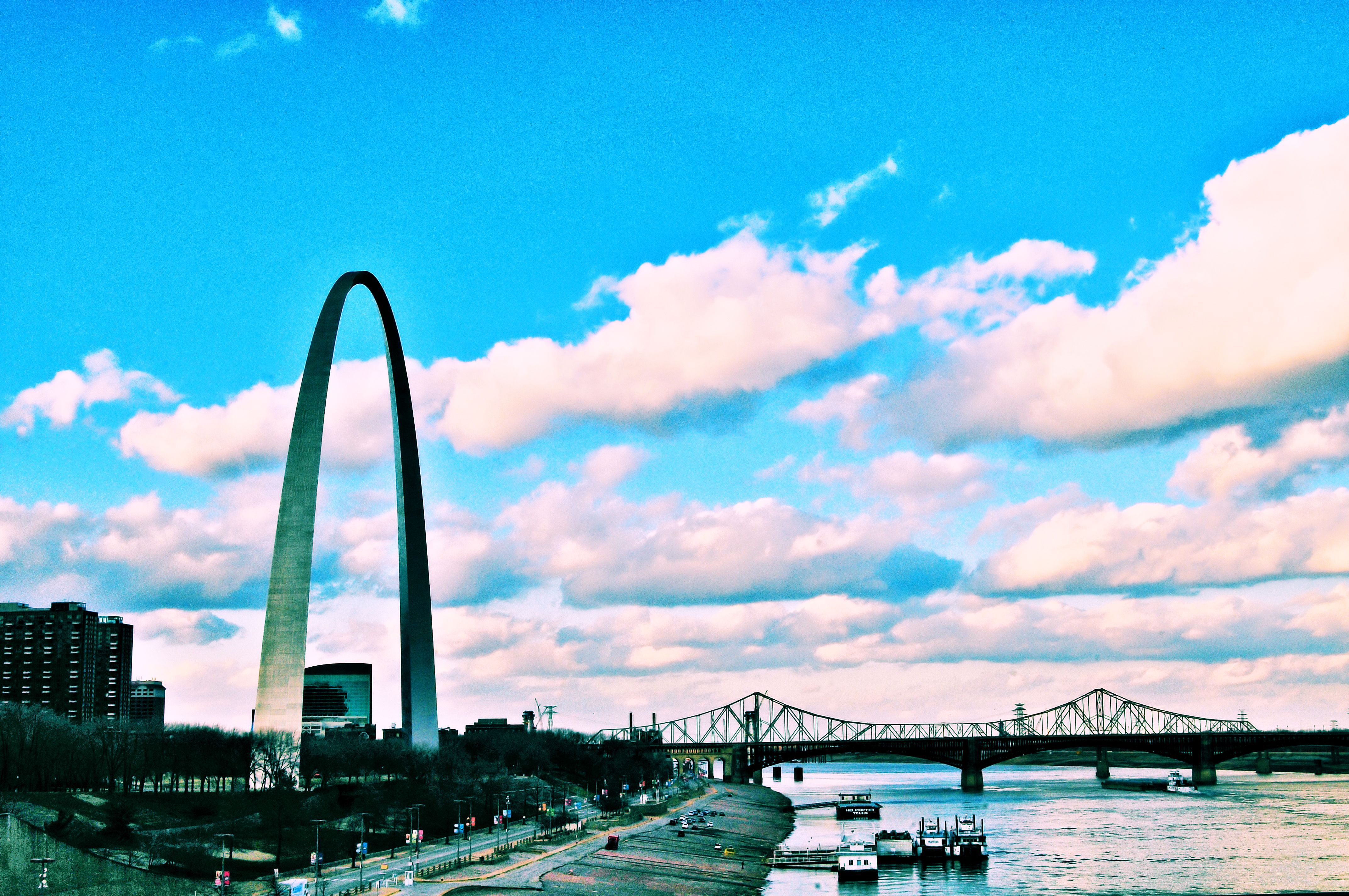 St. Louis...one of the most memorable skylines in the United States.