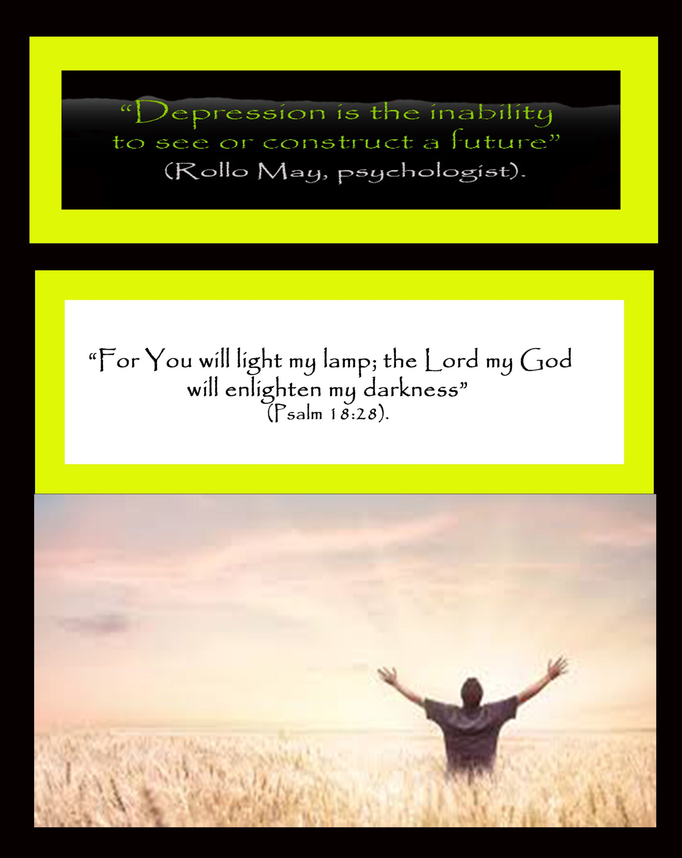 God offers to bring His Light to our darkness.