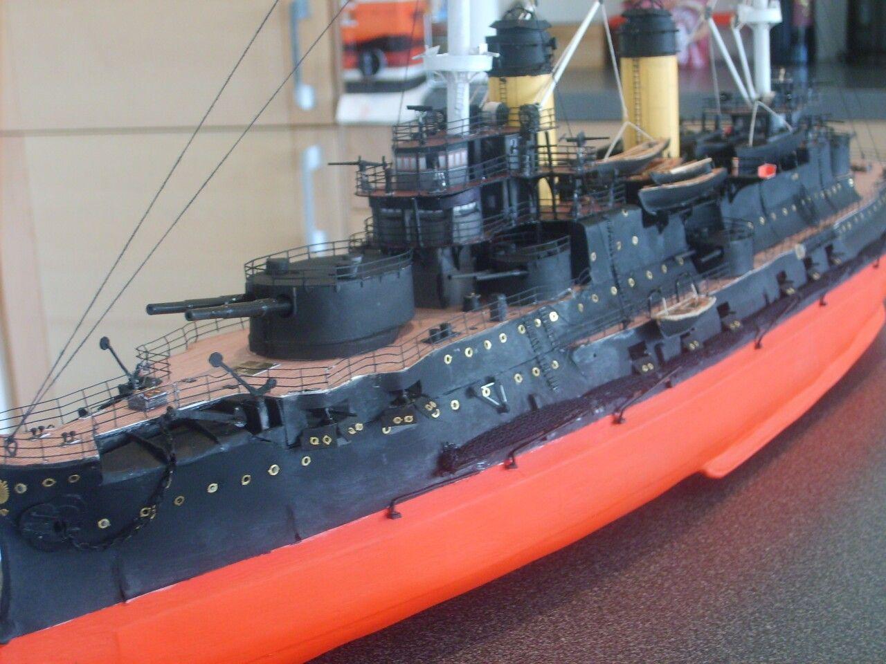 Paper modelship 1:200 Russian pre-dreadnought Battleship Borodino