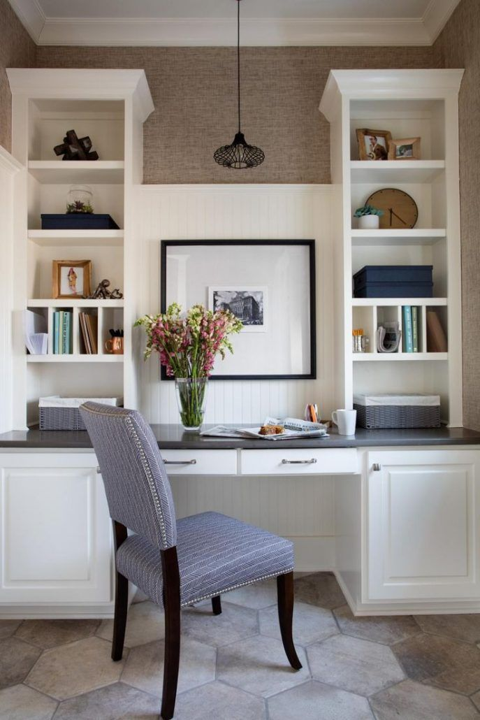 20 Trendy Ideas For A Home Office With Skylights: 20+ Gorgeous And Trending Kitchen Desk Ideas (Scandinavian, Rustic, Contemporary Kitchen Desk