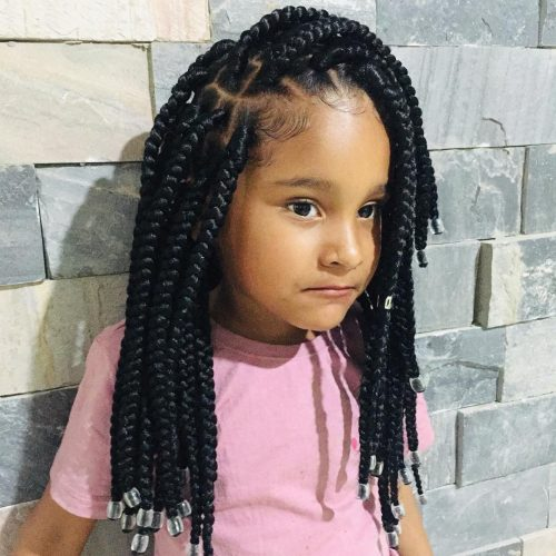 20 Cutest Braid Hairstyles For Kids Right Now Kids Braided Hairstyles Kids Box Braids Kids Hairstyles