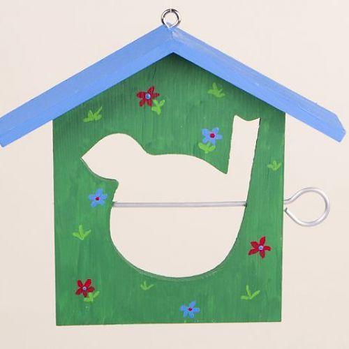 AuBergewohnlich Wenn Ihr Am Kindergeburtstag Basteln Wollt, Bietet Sich Ein Cooles  Vogelhaus Aus Holz An.