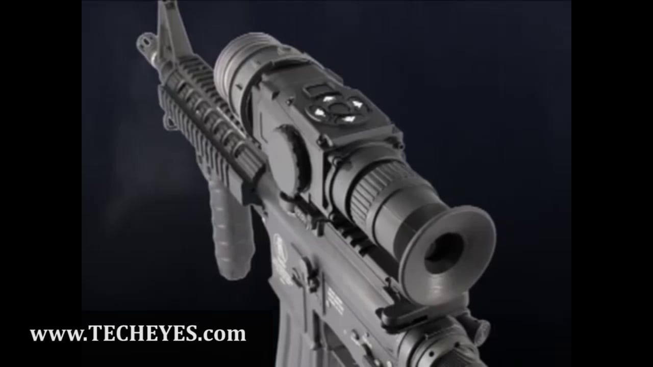 ATN ThOR series Weapon Sight Video-Review by www TECHEYES