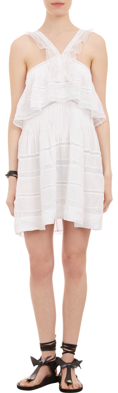 Isabel Marant Obira Dress Sale up to 70% off at Barneyswarehouse.com