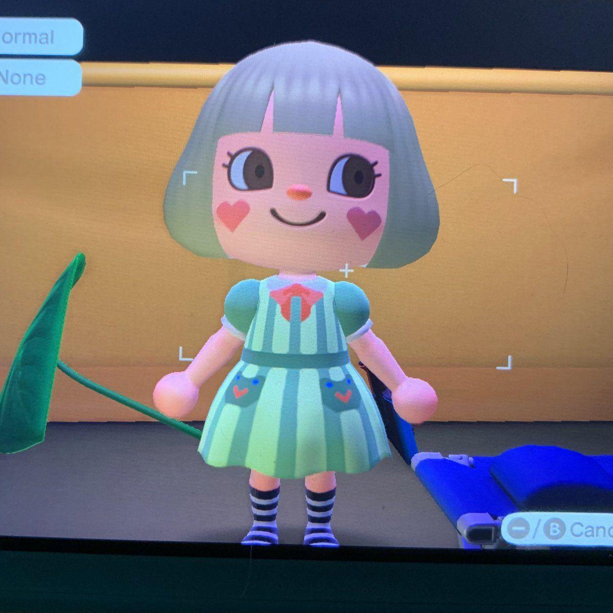 Shoujo girl in 2020 Design maker, Animal crossing, Take