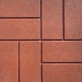 6 57 16x16 Recycled Rubber Pavers Very Cool Alternative To Brick