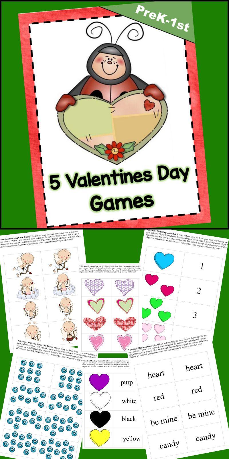 5 valentines day games valentines day games