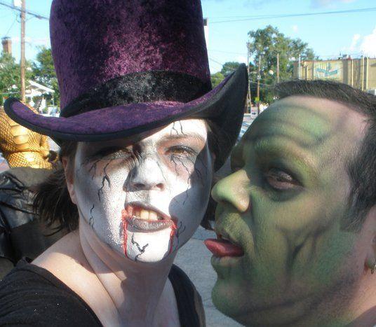 zombie walk in july