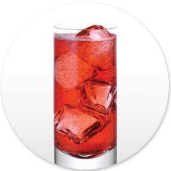 1 part Skinnygirl™ White Cherry Vodka 4 parts sparkling water Splash of all natural pomegranate juice