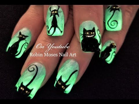 Easy Halloween Nails Youtube Papillon Day Spa