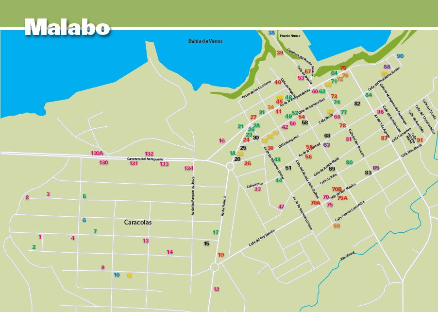 Malabo I Map I lived here for 3 years Pinterest City