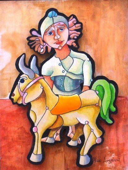 Artista Plástico Aldo Anzaloni,estudios arte en Brazil, residenciado en el Estado Anzoátegui. exhibe sus obras en la Galería