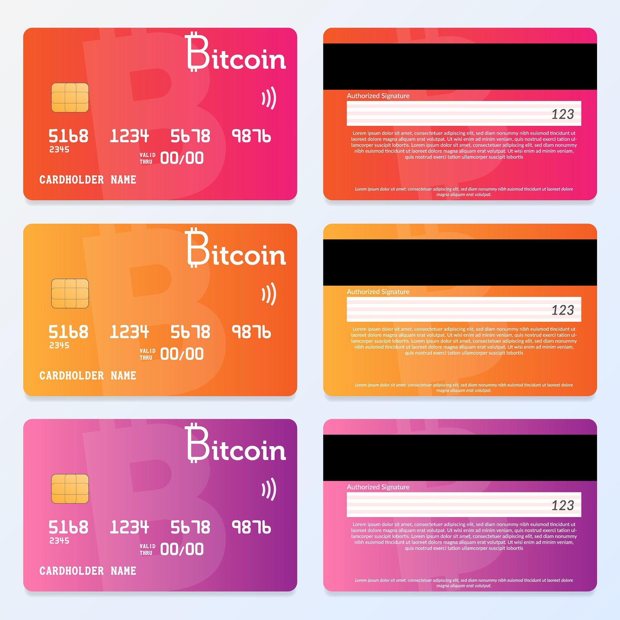Credit Card Design Bitcoin Pay Credit Card Design Kids Credit Card Debit Card Design