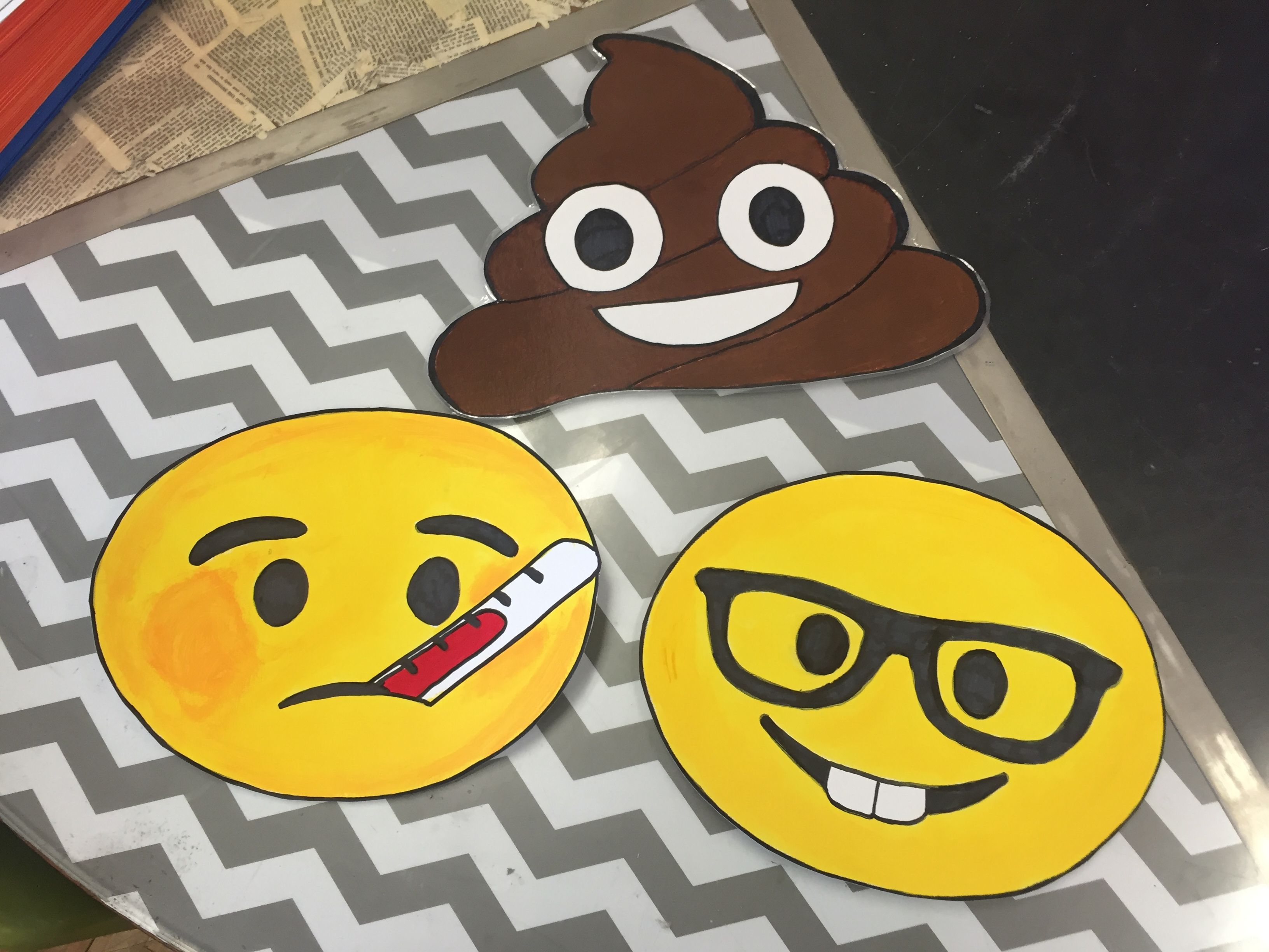 Homemade emoji passes for middle school students? Oh yeah! Nurse ...