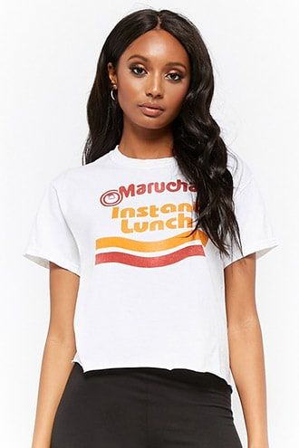 9fe72e9b84f Maruchan Instant Lunch Raw-Cut Graphic Tee | Products | Forever 21 ...