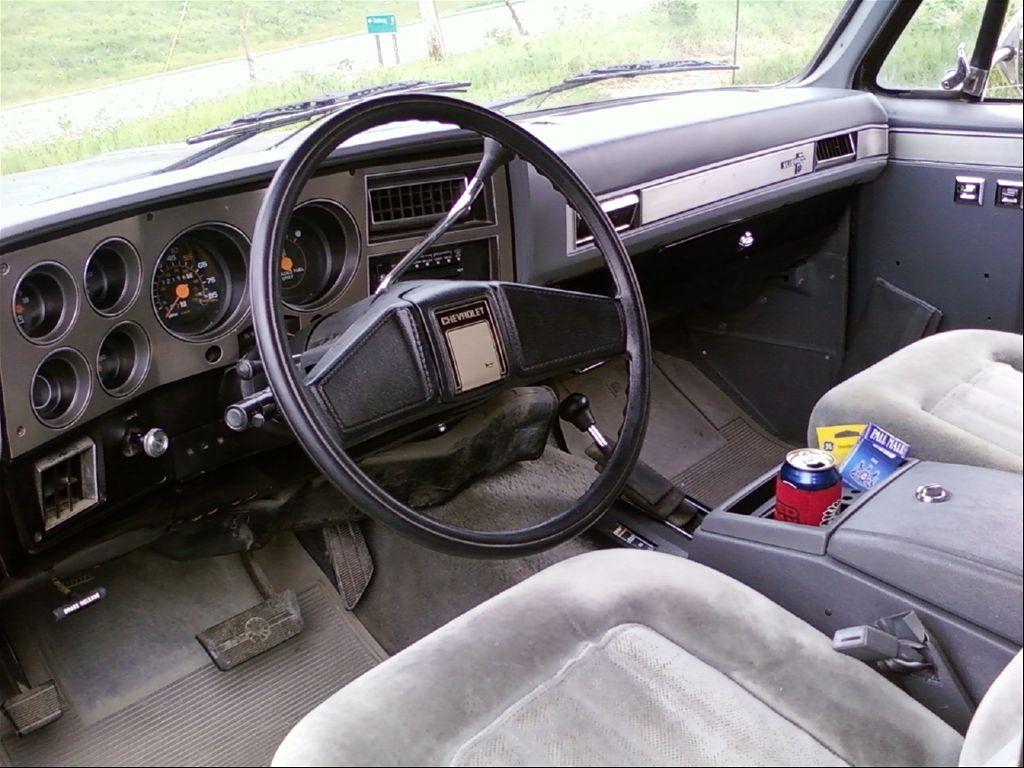 Chevy K5 Blazer Interior Chevy Blazer K5 K5 Blazer Truck Interior
